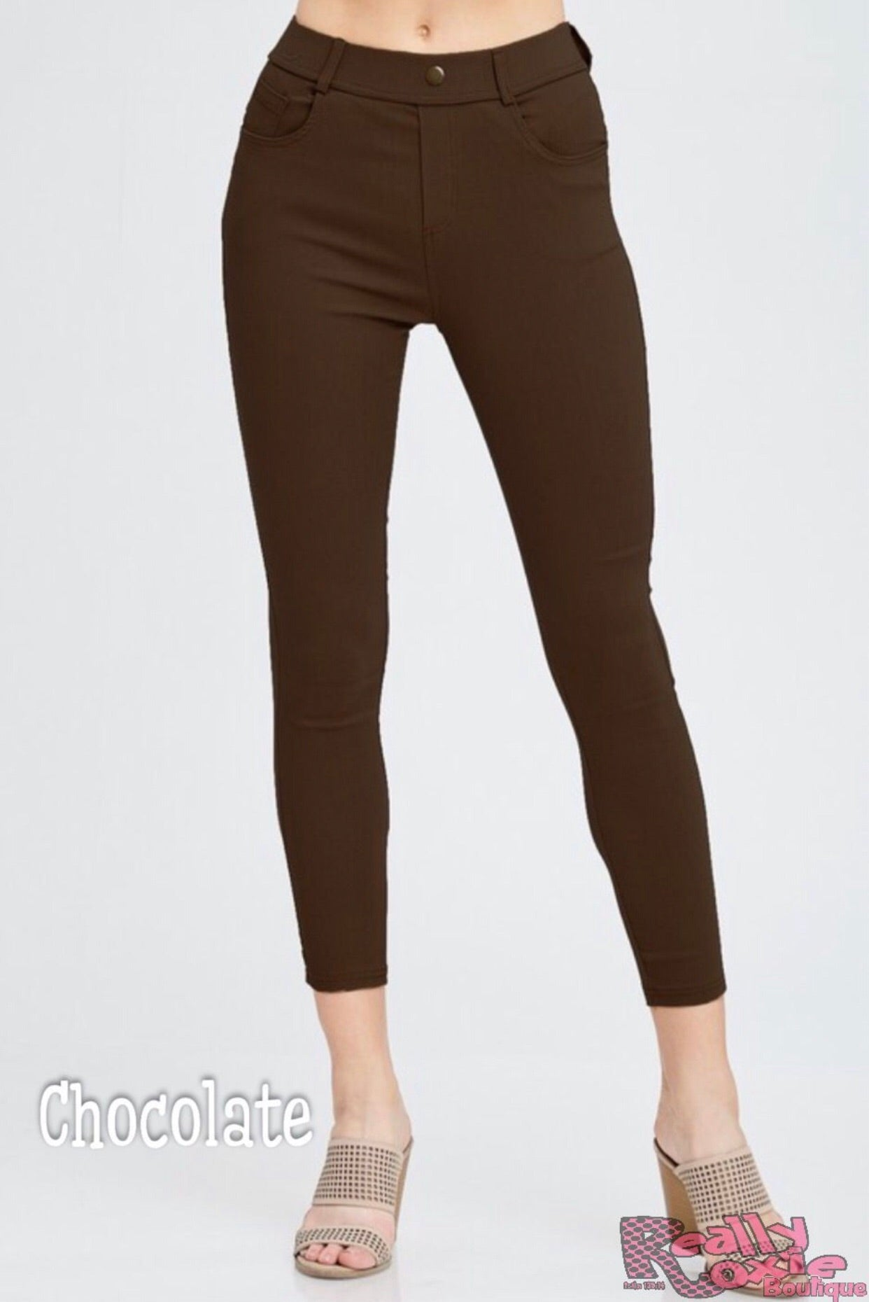 Super Stretchy Jeggings (10 Colors)