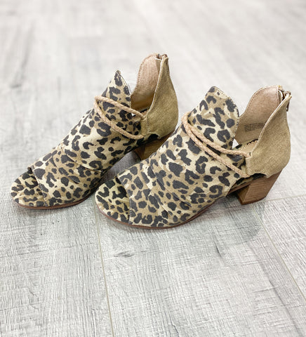 Sillian Leopard Bootie by Very G