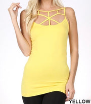 Webbed Seamless Camis (19 Colors)