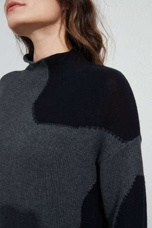 ROUNDED INSERTS KNIT