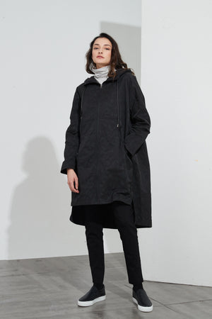 SWING BACK OVERCOAT