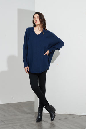 OVERSIZED POCKET KNIT