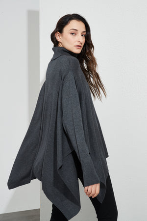 PONCHO PULLOVER