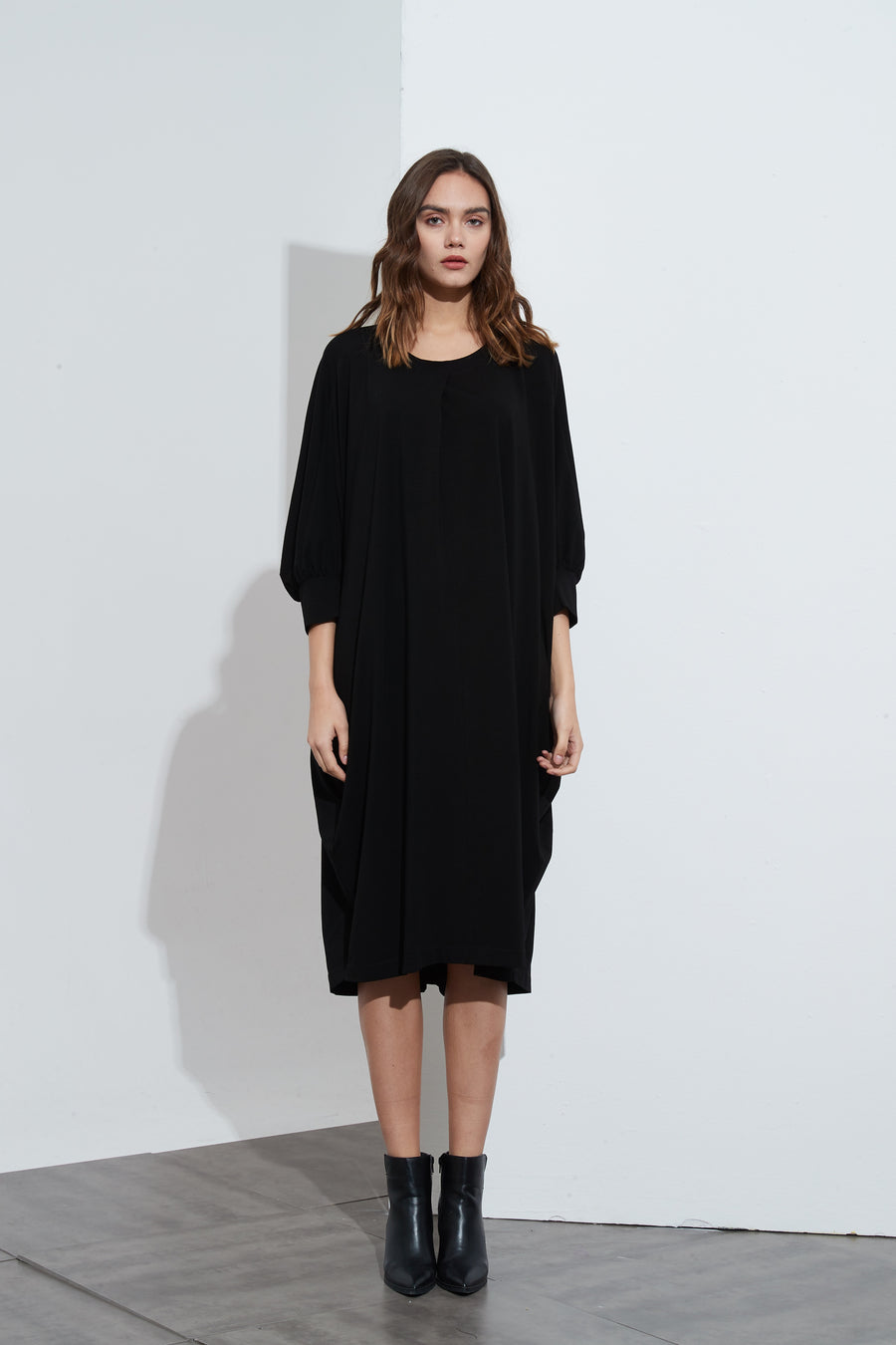 PRE ORDER RELAXED BATWING DRESS