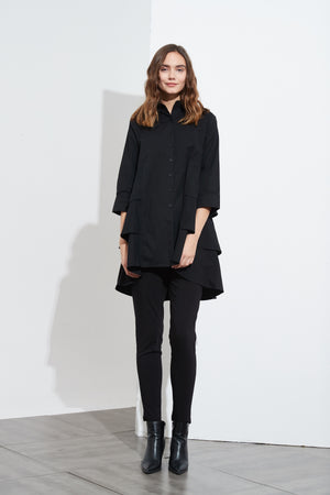 3/4 SLEEVE TRIPLE LAYER SHIRT