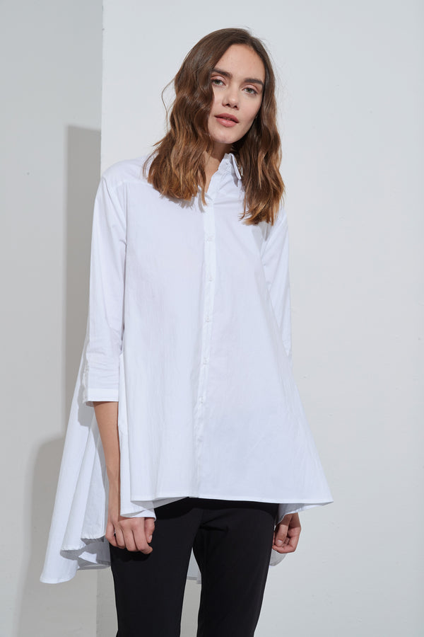COTTON SWING BACK SHIRT