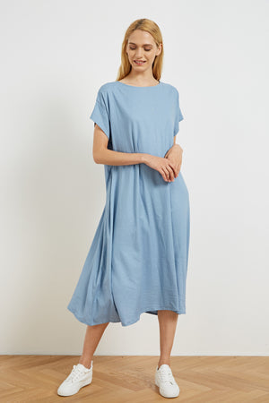 STITCH DETAIL DRESS