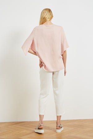 SPLIT SLEEVE TOP