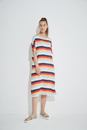 Multistripe Dress