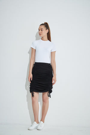 DRAWCORD SKIRT