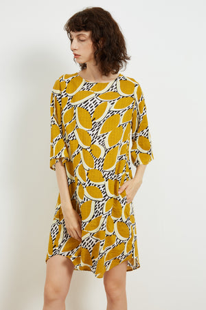 SIMPLE PRINTED TUNIC