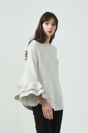 18K80122 PONCHO KNIT (more colours available)