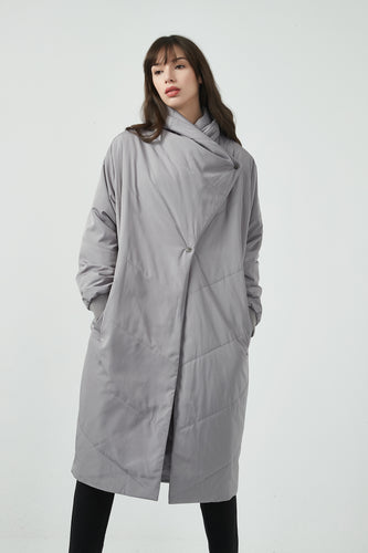 17C738 PADDED LONG COAT (more colours available)