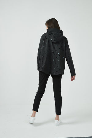 17C737 REVERSIBLE SPOT FOIL JACKET (more colours available)
