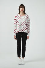 18A80172 BIRD PRINT JUMPER (more colours available)