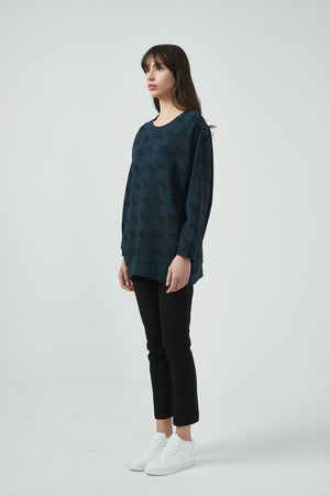 BLACKBIRD LONGLINE JUMPER