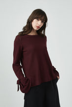 18K80146 TIE SLEEVE KNIT (more colours available)