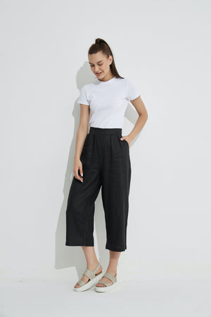 CROPPED POCKET PANT