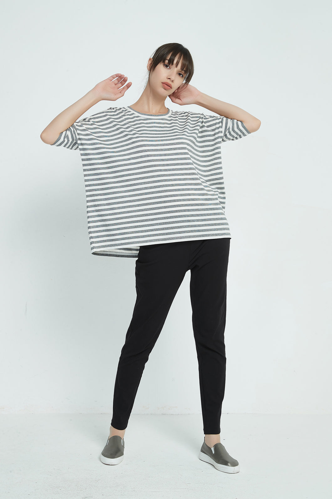19A9078 DOUBLE STRIPE TEE (more colours available)