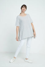 19A9080 OVERSIZED DOUBLE STRIPE TEE (more colours available)