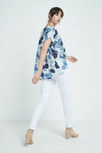 19A9050 INK BLOT PLEAT TOP (more colours available)