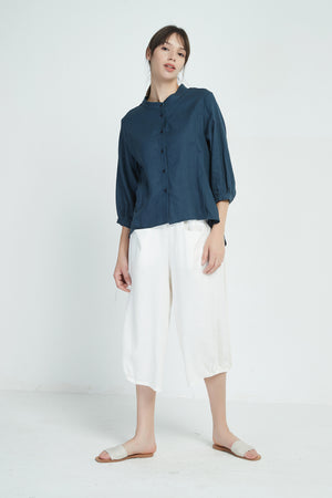 BUTTON FRONT SHIRT