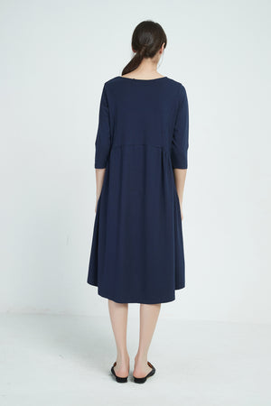 GATHER POCKET DRESS