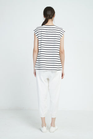 19A9009 STRIPE TEE (more colours available)