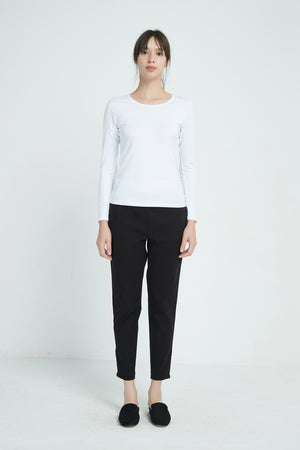 STRAIGHT CROP PANT