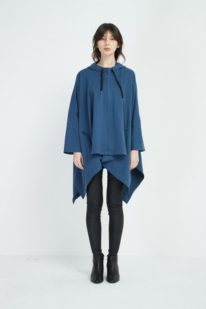 ZIP UP CAPE