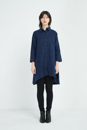 LONG SMALL SPOT SHIRT