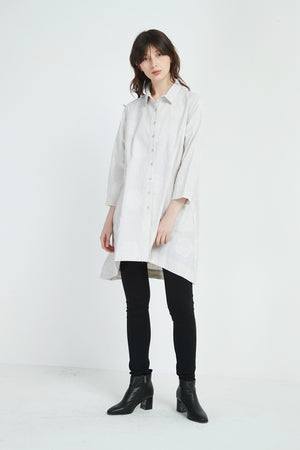 LONG BIG SPOT SHIRT