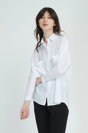 BUTTON SLEEVE SHIRT