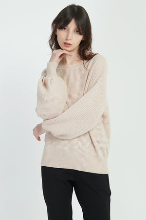 TEXTURED KNIT