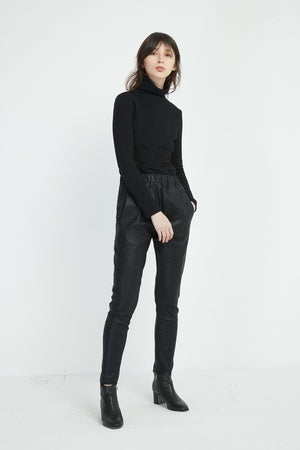 SEMI-RELAXED SHIMMER PANT