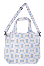 Load image into Gallery viewer, Shopping Bag- 2-Way Hobo - Berlin White