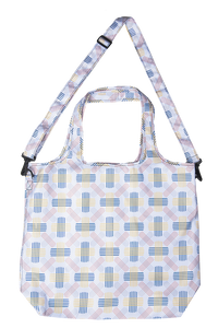 Shopping Bag- 2-Way Hobo - Berlin White