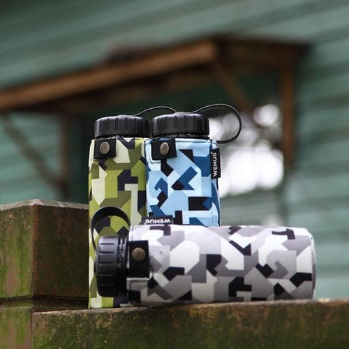 Camo Blue Jacket Tritan BPA Free Water Bottle