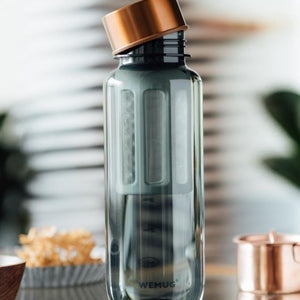 WEMUG Copper Brew Bottle S550/S650 with filter, Tritan BPA Free, coffee lover on-the-go - WEMUG