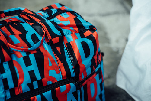 Foldable Duffel Bag - Alphabet - h-a-n-d