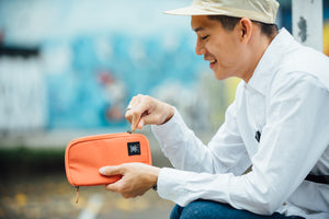 Orange Urban Wallet - WEMUG