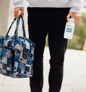 Foldable Duffel Bag Water Repellent with themed pattern - WEMUG