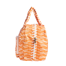Load image into Gallery viewer, Travel Duffel Bag - Zig Zag Orange - WEMUG