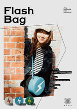 Load image into Gallery viewer, Minimal Crossbody Shoulder Bag - Flash Round Blue - WEMUG