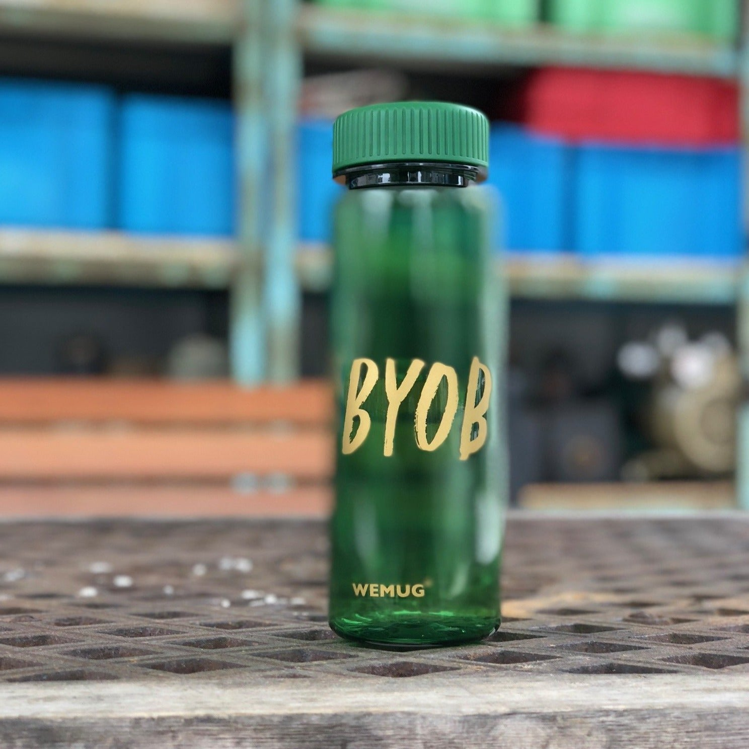 Lifestyle Water Bottle (Green)  - S500 #BYOB