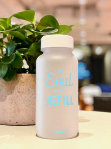 Frosty Words Tritan BPA Free Water Bottle - h-a-n-d