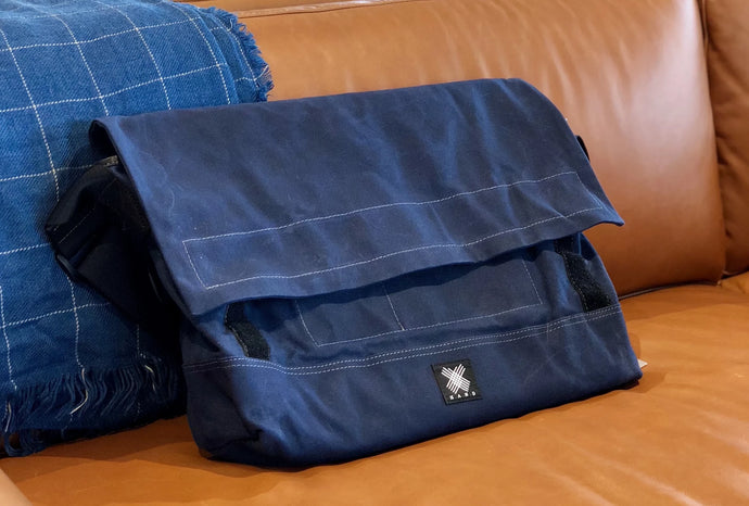 Messenger Bag - Dark Blue - Bicycle Bag - WEMUG