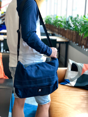 Messenger Bag - Dark Blue - Bicycle Bag