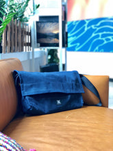 Load image into Gallery viewer, Messenger Bag - Dark Blue - Bicycle Bag - h-a-n-d