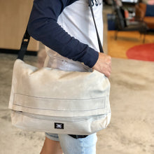 Load image into Gallery viewer, Messenger Bag - Light Grey - h-a-n-d